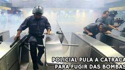 'Não achei necessário', diz secretário sobre uso de bombas pela PM no metrô de