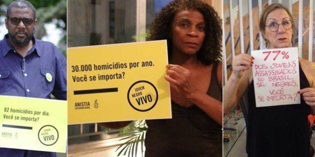 Campanha 'Jovem Negro Vivo' alcança 15 mil assinaturas, ganha apoios de peso e destaca ótica racial da...