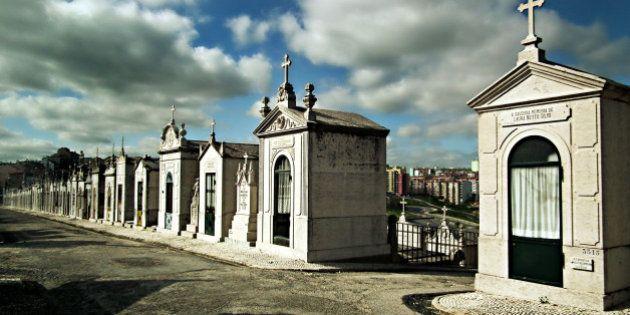 The cemitério do Alto de São João is a true necropolis, with the dead mainly residing above ground...
