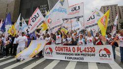 Milhares de trabalhadores vão às ruas contra a terceirização em todo o