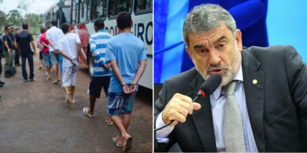 'Estão fazendo tempestade em copo d'água', diz relator da comissão da maioridade penal, Laerte