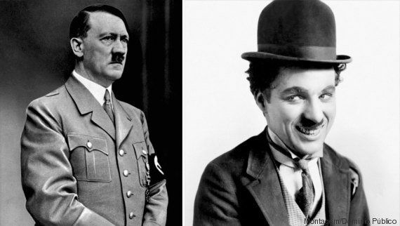 Quais as semelhanças entre Chaplin e Hitler, além do