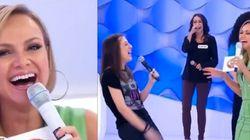 ASSISTA: Eliana protagoniza o maior -- e mais divertido -- duelo de risadas da TV