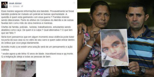 Mãe de Eduardo de Jesus, morto no Complexo do Alemão, diz que vai processar fundador do Afroreggae por...