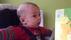 ROOAARRR! Veja a reação deste bebê ao ouvir o rugido de um leão pela primeira