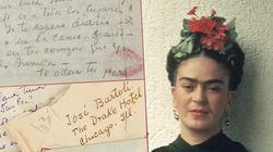 Cartas de amor de Frida Kahlo são leiloadas -- Veja as melhores