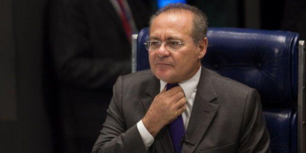 PMDB oficializa candidatura de Renan Calheiros para presidência do