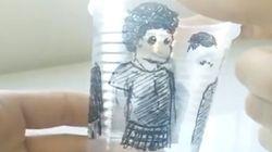 Veja o que você pode fazer com 4 copos de plástico e uma