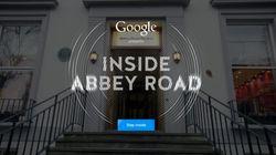 Google lança ferramenta interativa para você explorar o estúdio Abbey