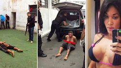 Fotos de travesti que teve rosto desfigurado dentro da prisão vazam nas