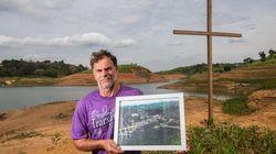 Cidade submersa reaparece após seca em SP e emociona