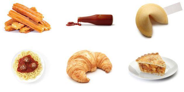 6 comidas que não vêm de onde você