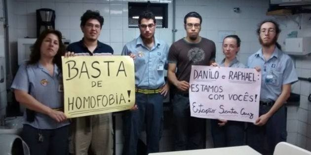 Metroviários de São Paulo se unem contra a homofobia após agressão de funcionário do Metrô e seu