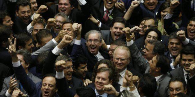 Eduardo Cunha (PMDB-RJ) é o novo presidente da Câmara dos