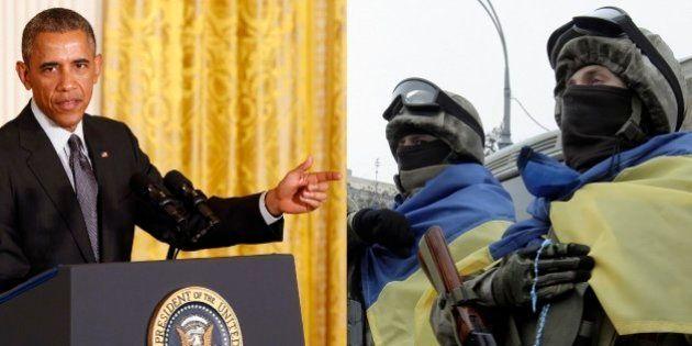 Barack Obama considera enviar armas e equipamentos para as forças ucranianas, diz