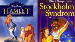 15 pôsteres de filmes Disney com títulos realmente