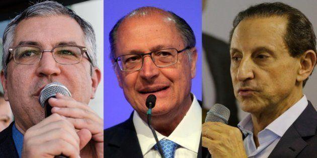 Saiba como foi a estreia de Geraldo Alckmin, Paulo Skaf e Alexandre Padilha no horário eleitoral