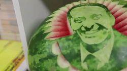 ASSISTA: Eduardo Campos é 'eternizado' com rosto em melancia no