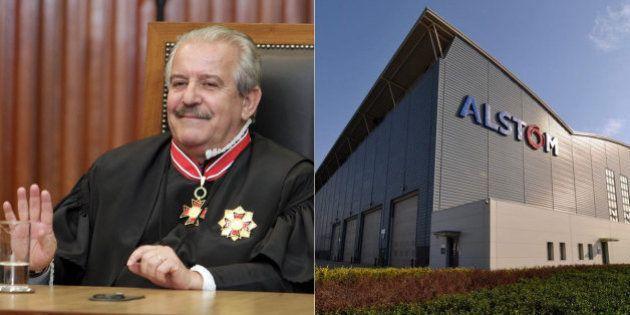Justiça bloqueia R$ 282 milhões da Alstom e do conselheiro do TCE Robson