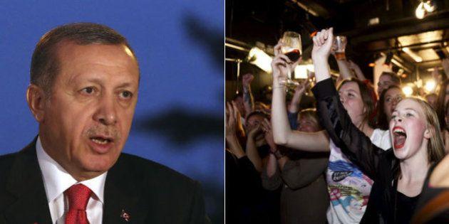 Presidente da Turquia diz que mulheres são 'delicadas' e não são iguais aos homens em encontro feminista...