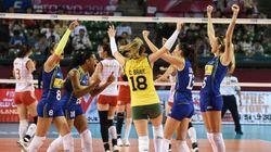 Brasil arrasa China em Tóquio e recupera-se de derrota no Grand