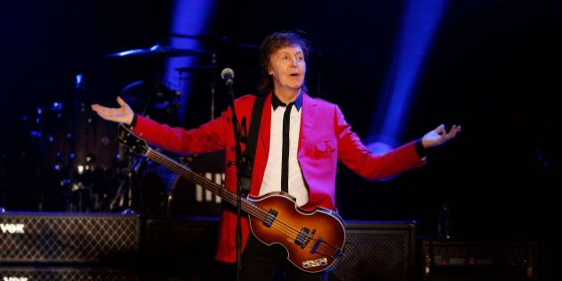 Paul McCartney volta a SP com velhos e novos hits na