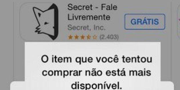 Diretora do Secret diz que é contra a proibição do app no Brasil: 'Vai restringir liberdade de