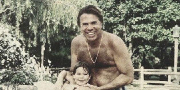 Pode isso, Lombardi? Sobrinho de Silvio Santos posta foto do 'Homem do Baú' de sunga nas redes