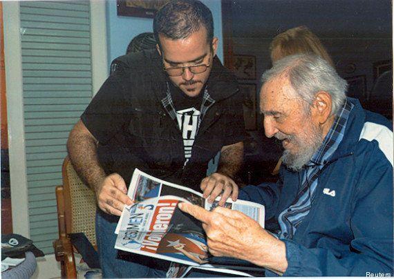 Fidel Castro aparece em fotos pela primeira vez desde