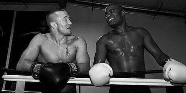 Desejada por chefão do UFC, superluta com Georges St-Pierre é sugerida pelo filho de Anderson Silva nas...