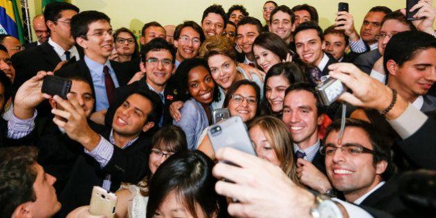 Presidenta Dilma Rousseff durante cerimônia de lançamento da segunda etapa do Programa Ciência sem...