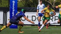 Rúgbi feminino do Brasil tem melhor equipe latino-americana no mundial de