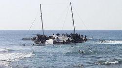 Mais uma embarcação de imigrantes naufraga no