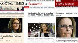 Renúncias na Petrobras são destaque na imprensa internacional; acompanhe a
