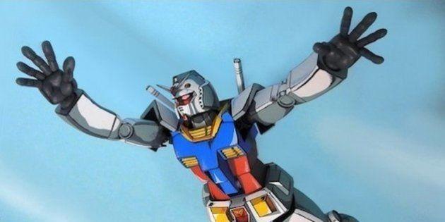 Plastic Model: escultura de 'Gundam' parece desenho