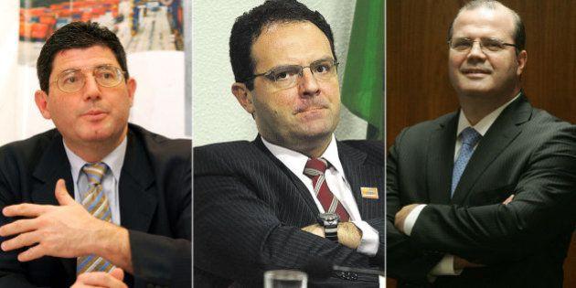 Joaquim Levy e Nelson Barbosa assumem ministérios da Fazenda e do Planejamento; Alexandre Tombini segue...
