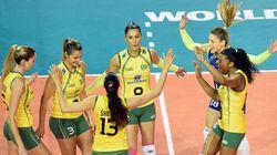 Brasil bate Rússia e fica perto do título no Grand