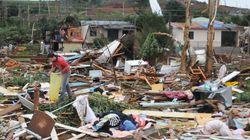 Tornado em SC: Município atingido declara calamidade
