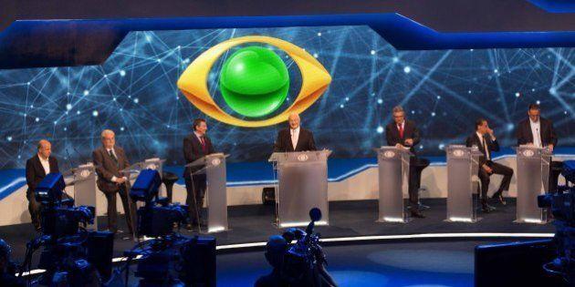 Sem Alckmin, Debate na Band com candidatos para governo de São Paulo foi