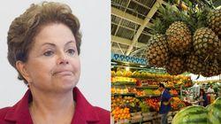 Mais dor de cabeça para Dilma: Inflação estoura teto da meta e é a maior em 12