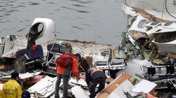 Caixas-pretas revelam causa de queda de avião em