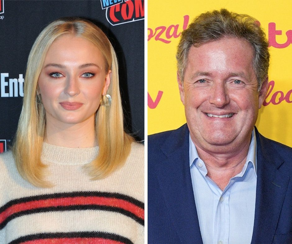 Sophie Turner Calls Out 'Twat' Piers Morgan For Mental Health