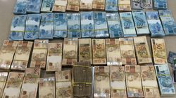Dinheiro apreendido na 9ª etapa da Lava Jato soma R$ 3,1