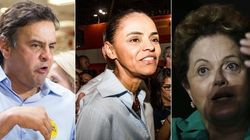 Furacão Marina provoca efeito devastador nas candidaturas de Aécio e