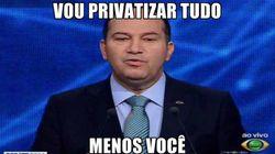 (In)Coerência: Everaldo quer privatizar o público, estatizar o privado e Twitter não