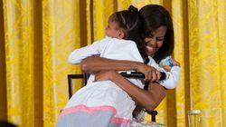 ASSISTA: Menina dá show de fofura ao 'descobrir' idade de Michelle