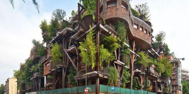 Apartamentos em árvores na Itália realizam sonho de