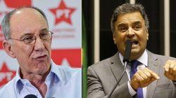 PT e Aécio vão brigar na Justiça por tucano acusar partido de 'organização