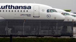 Nona greve da Lufthansa em 2014 afeta voos no
