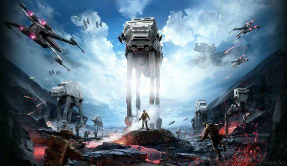 Novo jogo Star Wars Battlefront sai antes do filme